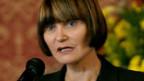Bundesrätin Micheline Calmy-Rey.