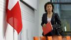 Bundesrätin Widmer-Schlumpf orientiert zum Thema unabhängige Bundesanwaltschaft.