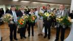 Die Kandidaten des Basler Regierungsrat, die es im ersten Wahlgang geschafft haben.