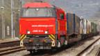 Güter sollen vermehrt auf die Schiene verlagert werden.