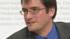 Christian Levrat äussert sich zur Finanzkrise.