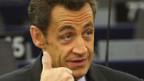 Nicolas Sarkozy fordert Teilverstaatlichung europäischer Schlüsselindustrien.
