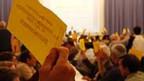 Die SVP-Delegierten unterstützen die Neugründung der Partei.