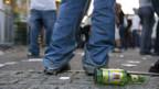 Alkohol: Der Bundesrat verzichtet darauf,  ein Verkaufsverbot ab 21 Uhr anzustreben.