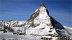 Der Permafrost hält das Matterhorn zusammen.