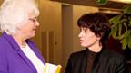 EU-Agrarkommissarin Mariann Fischer Boel und Doris Leuthard.