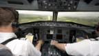 Der gekröpfte Nordanflug ist ein Nichtpräzisionsanflug.