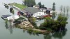 Grosse Schäden durch Hochwasser.