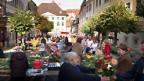 Markt in Pruntrut/Porrentruy