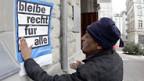 Papierlose in Zürich fordern Bleiberecht.