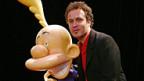 Philippe Chappuis alias ZEP (r.) mit Comicfigur Titeuf.