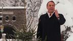Adolf Ogi hält am 29. Dezember 1999 in seinem Heimatort Kandersteg die traditionellen Neujahrsansprache.
