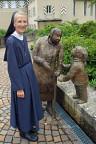 Schwester Marie-Ruth Ziegler im Kloster Baldegg