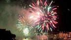 Feuerwerk - am 1. August immer besonders aktuell. Feuerwerk 2011 in Basel.
