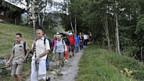 Fiesch: Prozession für den Erhalt der Gletscher