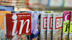 Teuer: Zeitschriften aus dem Euroraum