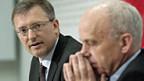 Geheimdienstchef Markus Seiler und Bundesrat Ueli Maurer stehen unter Druck.