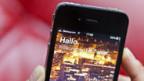 Twitter-Einstiegsseite auf dem iPhone