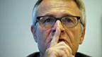 Hans-Rudolf Matter an der Medienkonferenz der BKB am 23. Oktober.