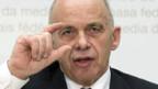 Verteidigungsminister Ueli Maurer: «Jetzt haben wir zuviel Geld, aber mittelfristig brauchen wir mehr.»