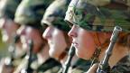 Die GsoA möchte nur noch freiwillige Rekruten in der Schweizer Armee.