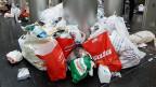 In der Schweiz wird Plastik nicht rezykliert sondern landet meist im Abfall.