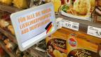 Warenangebot - den zahlreichen deutschen KonsumentInnen angepasst,