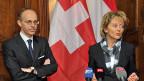 Finanzministerin Eveline Widmer-Schlumpf trifft Luxemburgs Finanzminister Luc Frieden.