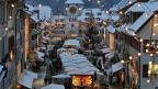 Weihnachtsmarkt in Willisau im Kanton Luzern.