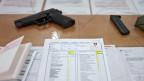 Waffenrückgabe, aufgenommen am 12. Juli 2011 in Othmarsingen.