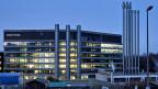 Das preisgekrönte Bürohochhaus Uetlihof der Credit Suisse.