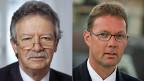 Martin Killian kämpft für und Peter V. Kunz gegen die Abzockerinitiative.
