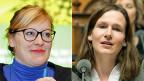 Aline Trede und Evi Allemann möchten beide VCS-Präsidentin werden.