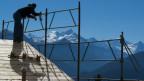 Viele Walliser besitzen Land - ein Bauplatz in Crans Montana