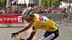 Tour-Gewinner Carlos Sastre.