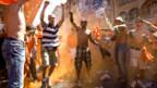 Orange Fans feiern gerne
