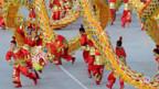 Tänzer bei Olympa-Eröffnung.
