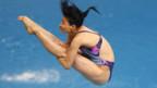 Die Wasserspringerin Guo Jingjing.
