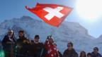 Das Lauberhonrennen ist Publikumsmagnet für viele Ski-Fans.