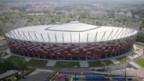 Fussballstadion in Warschau