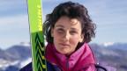 Die Schweizer Skirennfahrerin Maria Walliser (1988).