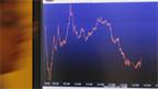 Die Wirtschafts-Kurve zeigt nach unten.