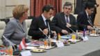 Beratungen der Euro-Länder in Paris.