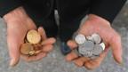 Euro ist gegen den Franken auf ein neues Rekordtief gefallen.
