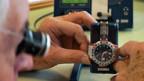 Exportrückgang auch in der Uhrenindustrie.
