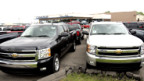 Fahrzeuge von General Motors: Der Autobauer rutscht immer tiefer in die roten Zahlen.