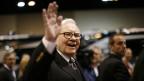 Der reichste Mann der Welt: Warren Buffet.