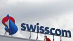 Swisscom mit neuem Logo.