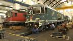 SBB Cargo Werkstätte in Bellinzona.