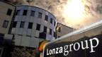 Das Verwaltungsgebäude des Chemiekonzerns Lonza in Visp/VS.